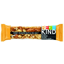 BE KIND HONEY NUTS & SEA SALT 40G 12 UDS