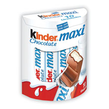 KINDER CHOCOLATE MAXI T 10 UDS